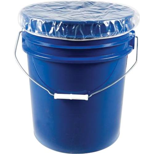 Elasticized Dust Caps For 5, 30 & 55-Gallon Containers