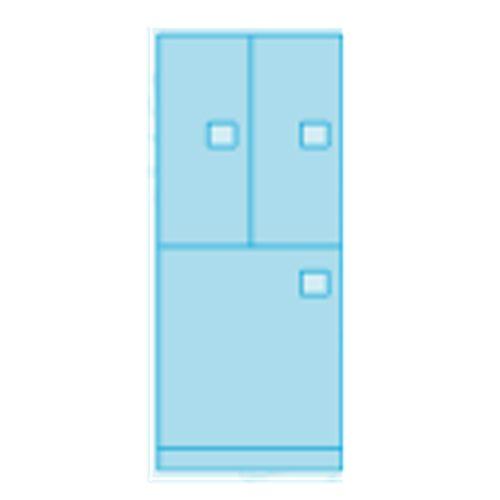 EL-8 - 3 Door Configuration