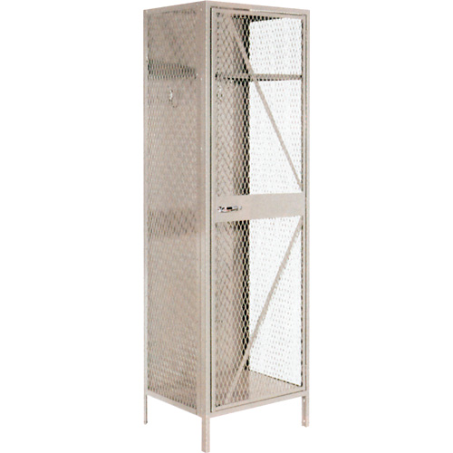 Visible Storage Wire Mesh Cabinet