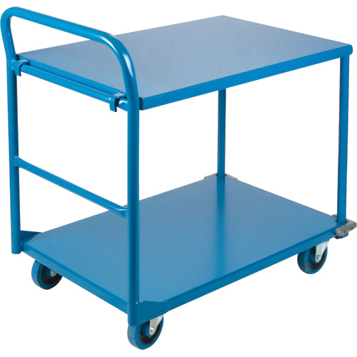 Commercial Duty Shelf Carts