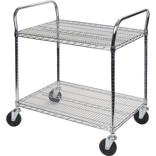 Standard Duty Utility Carts w/2 Shelves