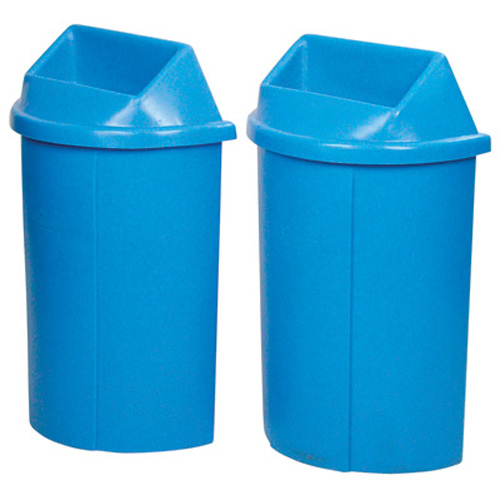 Half Moon Bullseye™ Recycling Containers