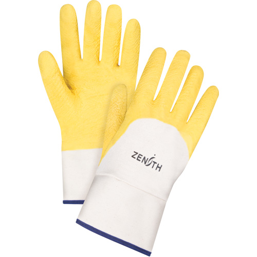 Natural Rubber Latex Coated Crinkle Finish Gloves