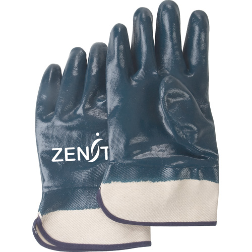 Heavy Weight Nitrile Coated Safety Cuff Gloves
