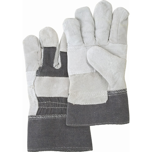 Split Cowhide Patch Palm Fitters Gloves