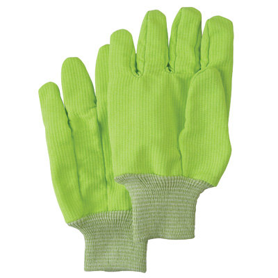 Poly/Cotton High Visibility Gloves
