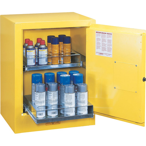 Sure-Grip® EX Aerosol Can Benchtop Cabinets