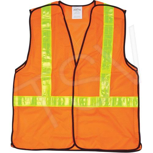 5-Point Tear-Away Traffic Safety Vests
