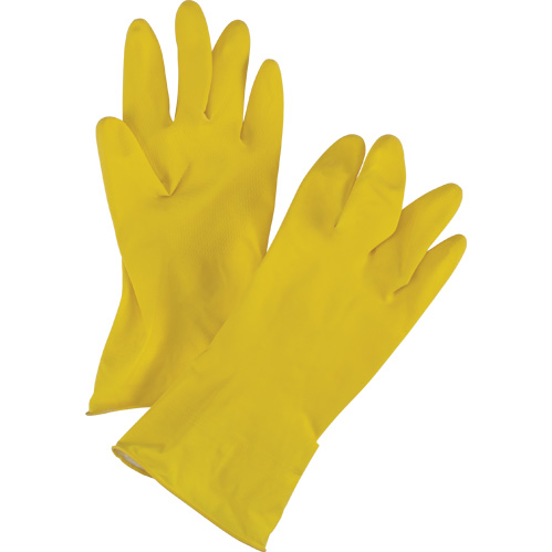 Yellow Natural Rubber Latex Gloves