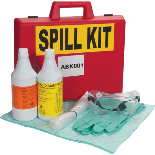 Lab Acid/Base Spill Kits