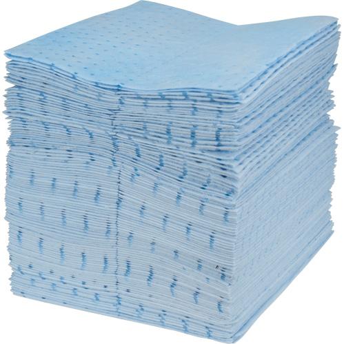 Blue Bonded Sorbent Pads & Rolls