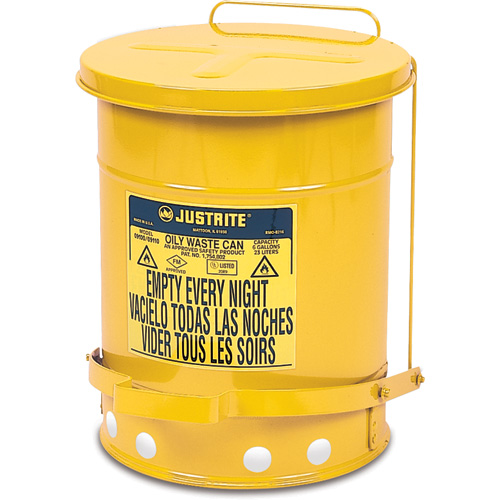 Oily Waste Cans - Yellow