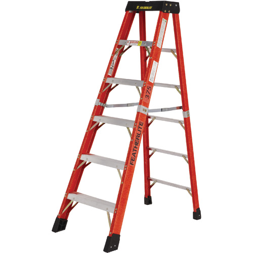 Industrial Extra Heavy-Duty Fibreglass Stepladders (6800 AA Series)