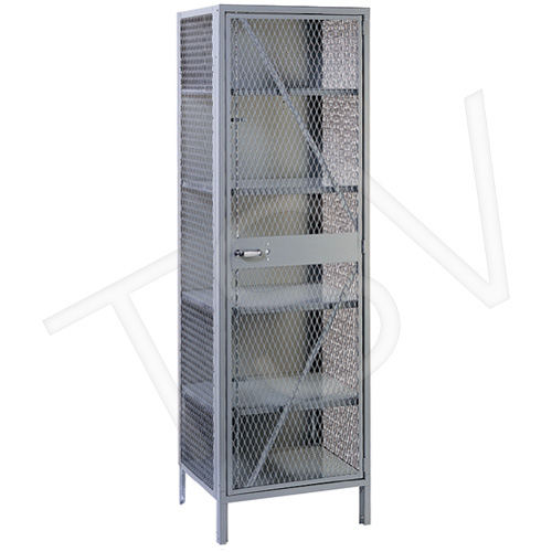 Visible Storage Wire Mesh Cabinet
