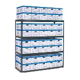 Complete Units (Includes Shelving, Deck & Boxes)