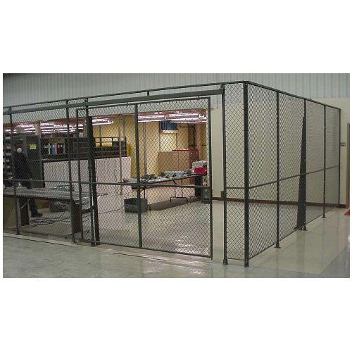 Wire Mesh Partitions & Enclosures Components