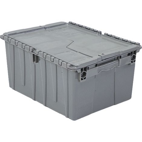 "Flipak® Polyethylene Plastic (PE) Distribution Containers - Outside Dimensions Top: 23.5""L x 15.7""W - Case/Qty: 3"