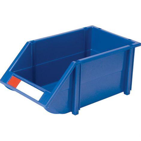 """Hi-Stak Plastic Bin - 8-3/16""""W x 14""""D x 6-3/16""""H - Case/Qty: 18"""