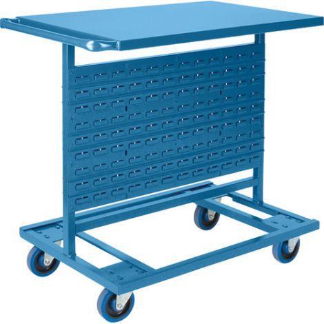 "Bin Carts - Cart Only-  Cart Dimensions: 24""W x 38-1/2""D x 36-1/2""H"