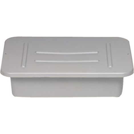 """Bus/Utility Boxes - Height: 5"""" - Width: 15"""" - Length: 20"""" - Colour: Grey - CaseQty: 24"""