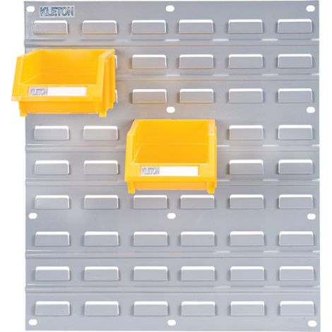 "Metal Bin Support Racks - Panel Size: 18""W x 19""H - Case/Qty: 6"