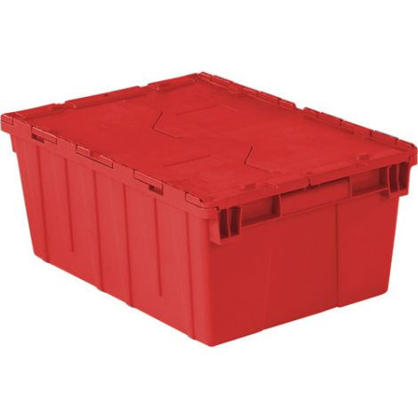 "Flipak Polyethylene Plastic (PE) Distribution Container - Outside Dimensions: 21.9""L x 15.2""W - Case/Qty: 4"