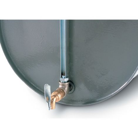 Graduated Drum Gauges with faucet - Bung Hole Size: 3/4""