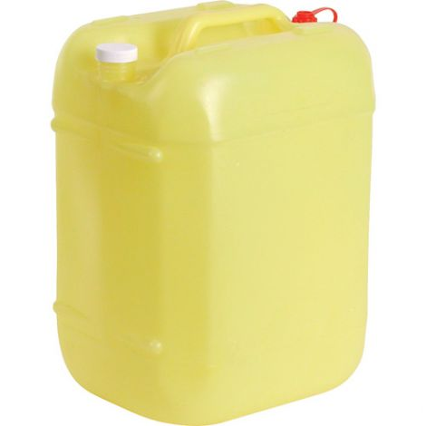 Rectangular Poly Tight Head Containers - Capacity: 5.3 gal. - Opening: 60 mm