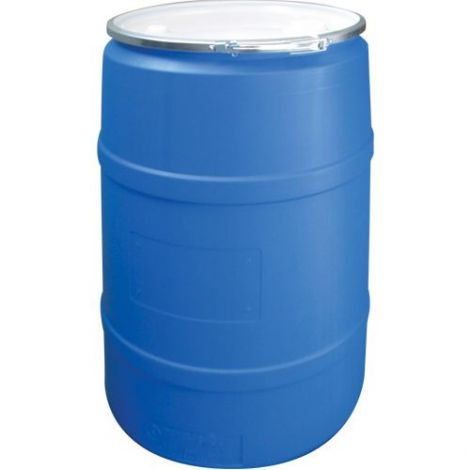 Blue Polyethylene Drums Drum Size: 55 US gal (45 imp. gal.) - Unlined / Open Top