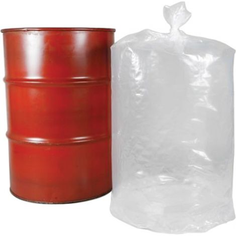 "Formfit Liners For 55-Gallon Drums - Height: 53"" - Wall Thickness: 8 mil - Note: Anti-static"