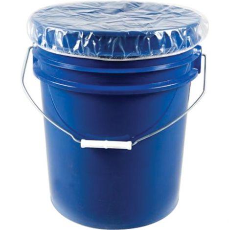 Elasticized Dust Caps - Fits Drum Size: 30 US gal (24.98 imp. gal.)