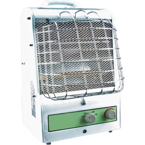 Portable Fan Forced/Radiant Utility Heaters - Type: Radiant Heat