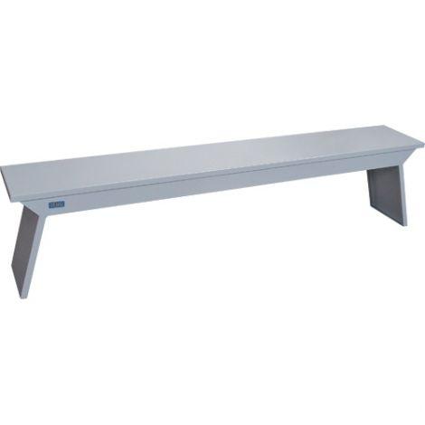 "Locker Room Benches - Material: Steel - 12""W x 17""H x 72""L"