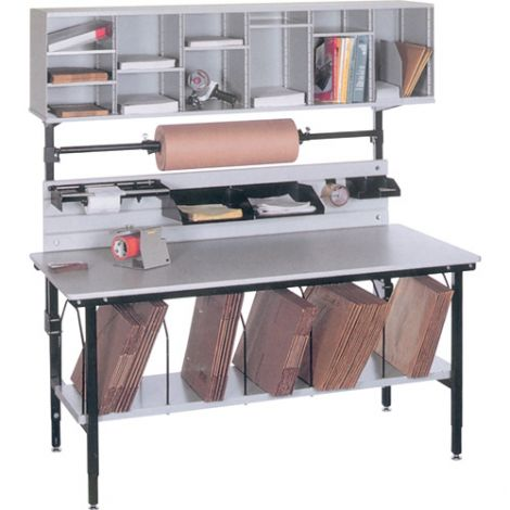 """Packaging & Shipping Station - B Series Bench - Width: 68"""" - Depth: 33"""" - Height: 60"""""""