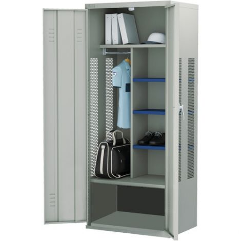 All-Welded Deluxe Gear Locker - Base Model - Colour: Grey - Ships Free