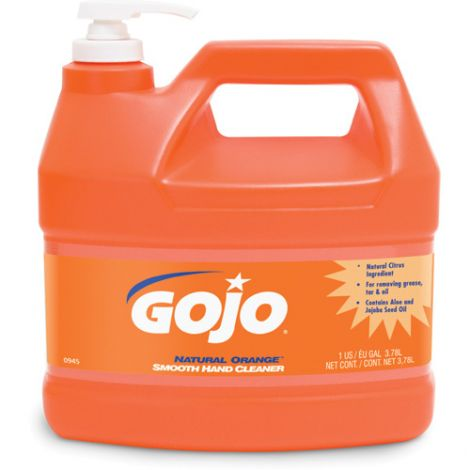 GOJO® Natural Orange ™ Smooth Hand Cleaner - Type: Cream - Container Size: 1000 ml - Container Type: Jug - Qty/Case: 4