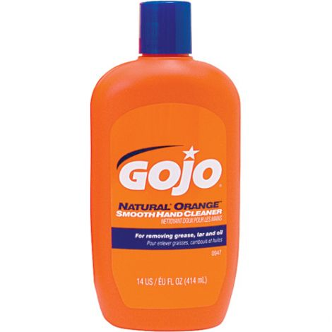 GOJO® Natural Orange™ Pumice Hand Cleaner - Type: Pumice - Container Size: 414 ml - Container Type: Bottle - Qty/Case: 24