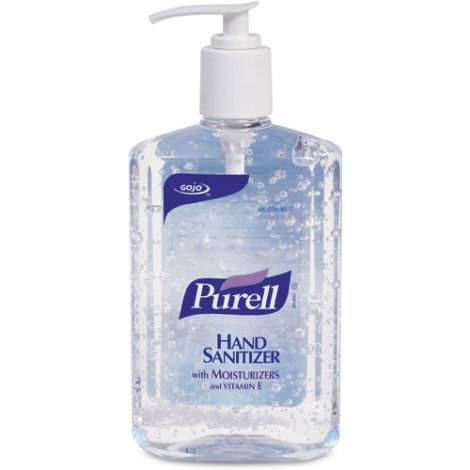 Purell® Hand Sanitizer - Container Type: Pump Bottle - Net Volume: 237 ml - Fragrance: Unscented - Qty/Case: 24