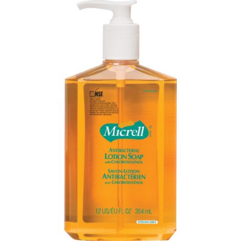 MICRELL® Antibacterial Lotion Soap - Container Type: Pump Bottle - Net Volume: 355 ml - Qty/Case: 24