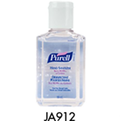 Purell® Hand Sanitizer -  Container Type: Squeeze Bottle - Net Volume: 59 ml - Fragrance: Unscented - Qty/Case: 48