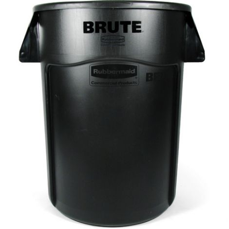 BRUTE ® 44-Gallon Round Containers - Colour: Black