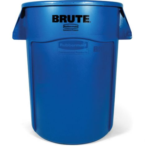 BRUTE ® 44-Gallon Round Containers - Colour: Blue