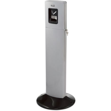 Metropolitan Smokers' Station - Colour: Silver Metallic