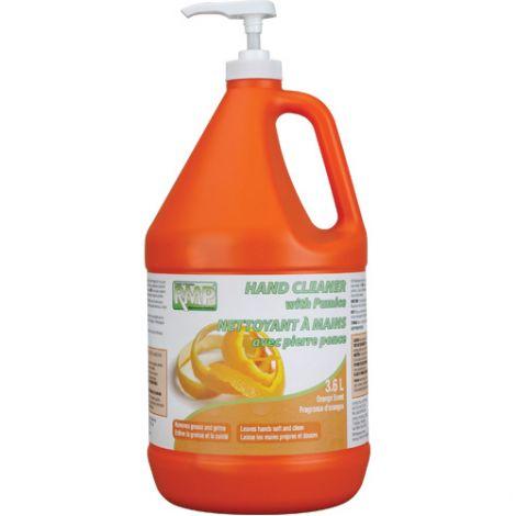 Orange Pumice Hand Cleaner - 3.6 L w/Pump - Qty/Case: 8
