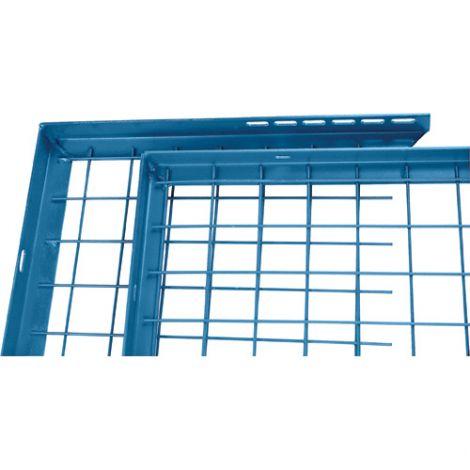 Adjustable Filler Panel - Colour: Blue - Dimensions: 8'W x 1'H