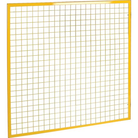Wire Mesh Partition Panel - Dimensions: 8'W x 4'H