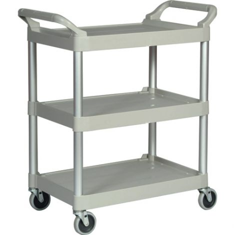 "Light-Duty Utility Carts - 3 Tiers - 19"" x 38"" x 34""  - 200 lbs. Capacity"