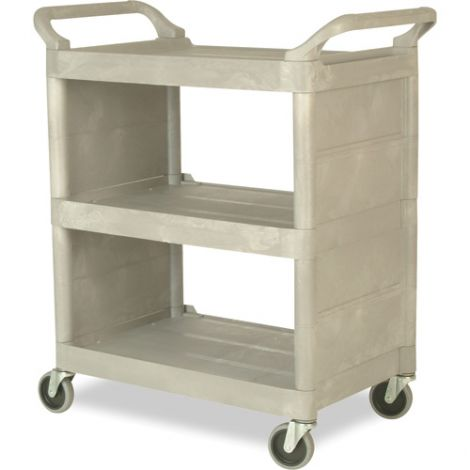 Light-Duty Utility Carts w/Enclosed End Panels