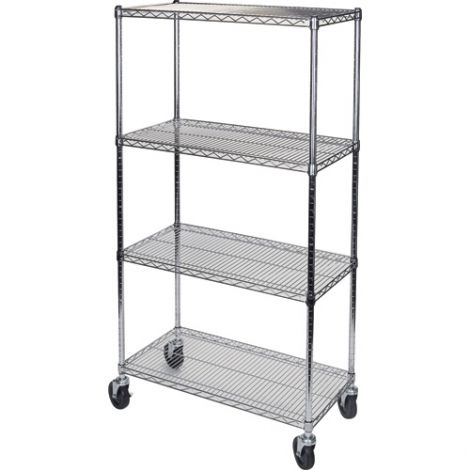 "Wire Shelf Carts - 24""D x 60""W x 74""H"