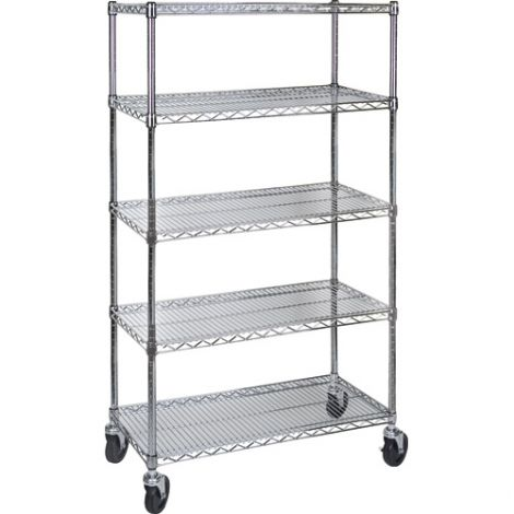 "Wire Shelf Carts - 24""D x 60""W x 86""H"